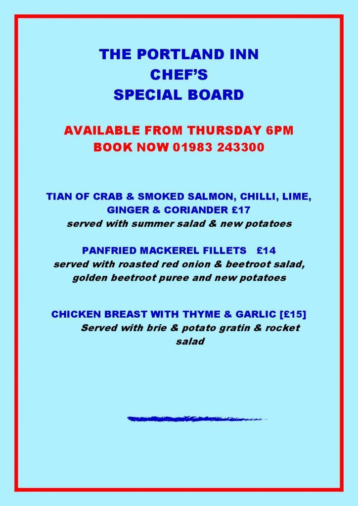 PORTLAND INN special board1-001